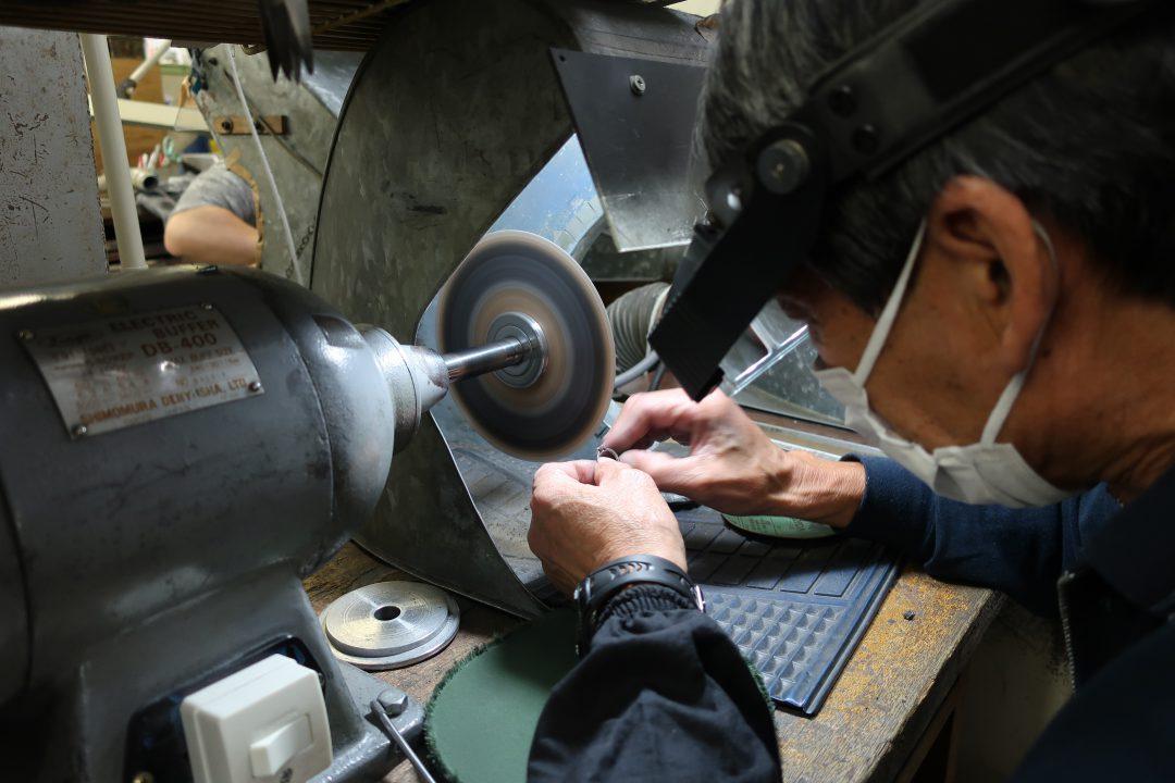 新潟のジュエリー宝石指輪の修理磨き(ポリッシュ)