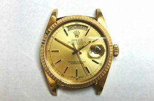 ロレックスを新潟市にある時計修理工房でオーバーホールしました。