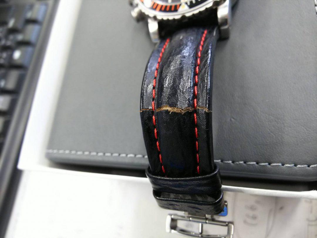 時計のベルトはBROOCHブローチ時計修理工房新潟へオリジナル作成可能