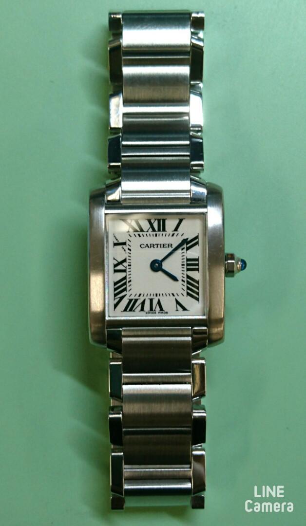 カルティエ オーバーホール(分解掃除)は新潟市ブローチ時計修理工房におまかせください!