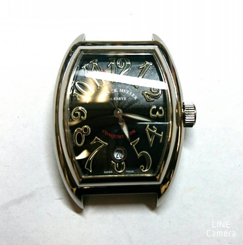 フランクミュラーのオーバーホール外装磨きをするなら新潟万代ブローチ時計修理工房