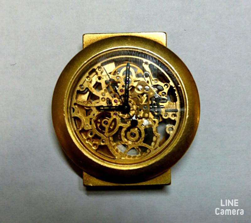 ドイツの機械式時計オーバーホールはBROOCH新潟時計修理工房へ