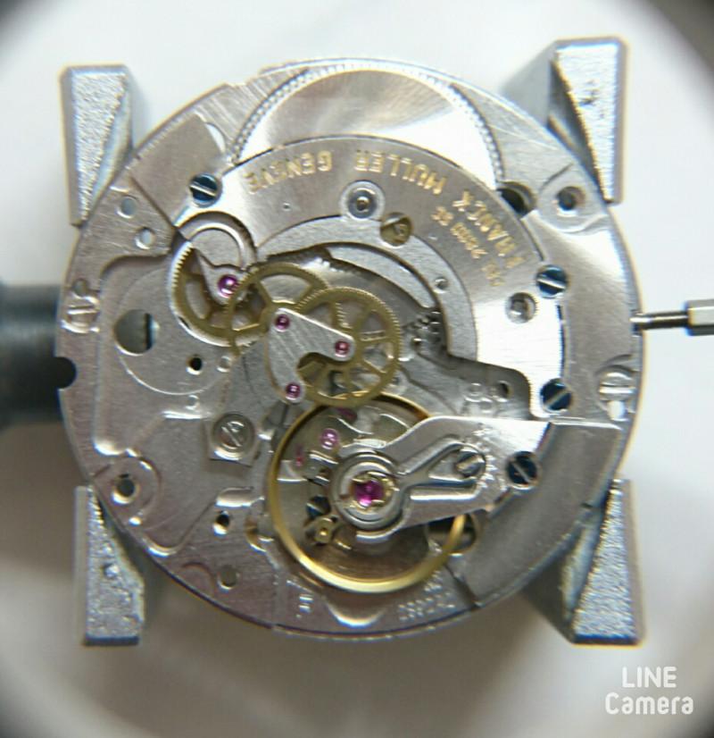 ドイツ時計らしい重厚な内部構造、複雑時計も修理はBROOCH新潟