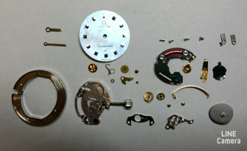 新潟でオメガの修理はBROOCH時計修理工房へクォーツから機械式までなんでもOK
