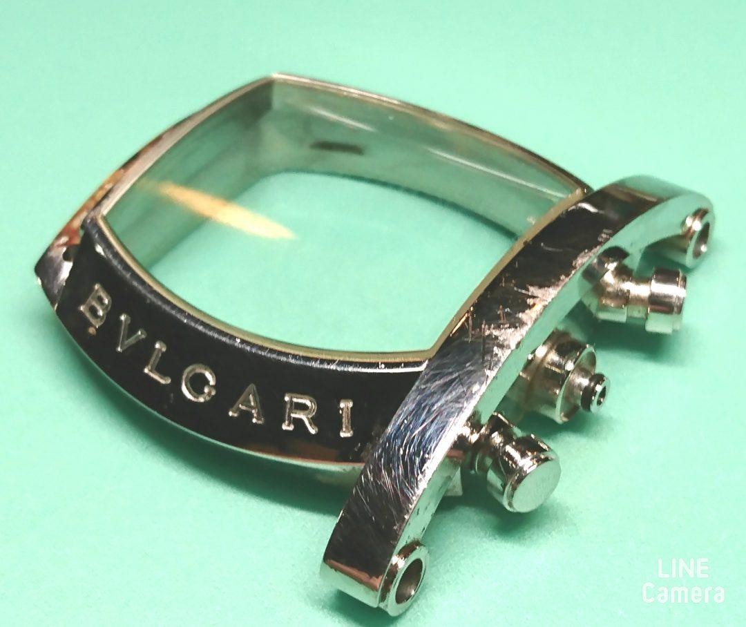 ブルガリBulgari の時計修理、オーバーホールやケースの磨きはBROOCHブローチ新潟時計工房
