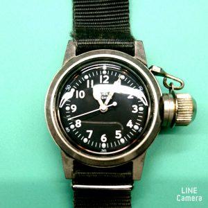 ミリタリーウオッチ等のタフな腕時計も修理はBROOCH新潟時計修理工房