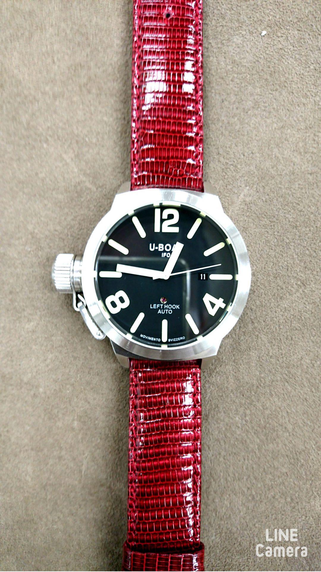 ユーボートU-BOATの分解掃除はブローチ新潟へ時計修理全般お任せください