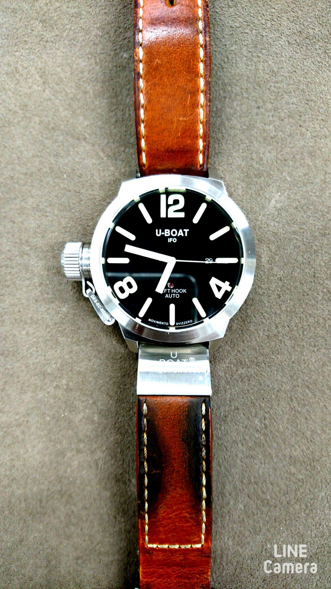 腕時計の修理オーバーホールや電池交換はBROOCH新潟へオリジナルベルトも取り扱い