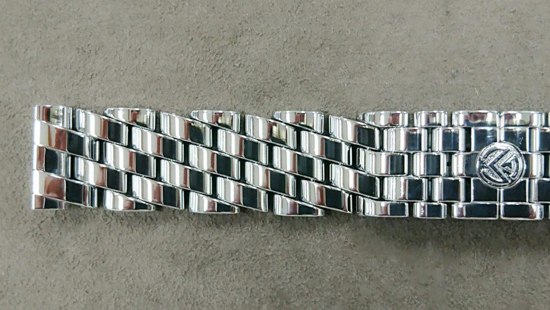 フランクミュラーのポリッシュ(外装磨き)を新潟市にある時計修理工房で行いました。