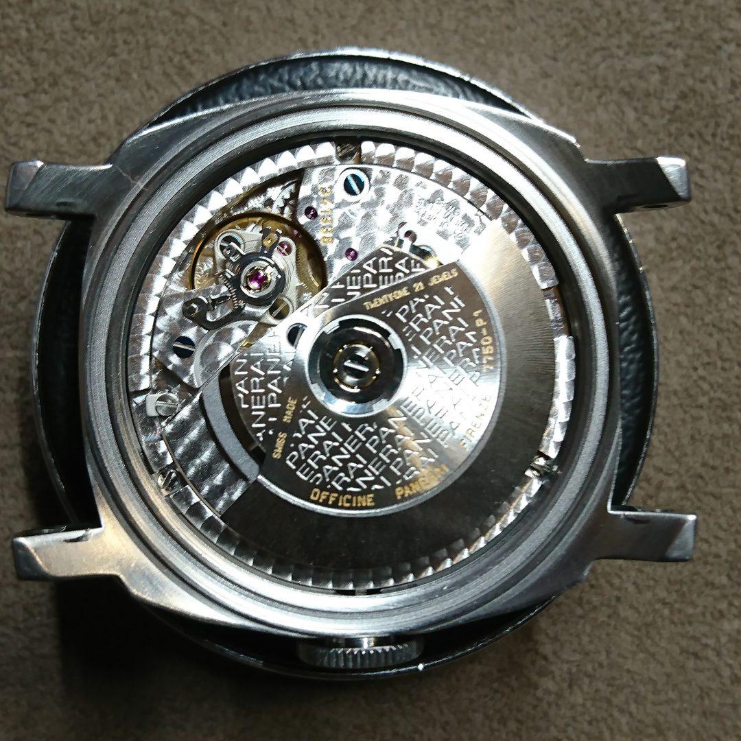 新潟時計修理工房パネライPANERAIルミノールマリーナLUMINORMARINAオーバーホールポリッシュ
