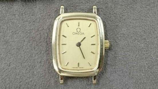 オメガの電池交換オーバーホールは新潟ブローチ時計修理工房