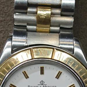 ボーム&メルシェのオーバーホール外装磨きなら新潟万代ブローチ時計修理工房