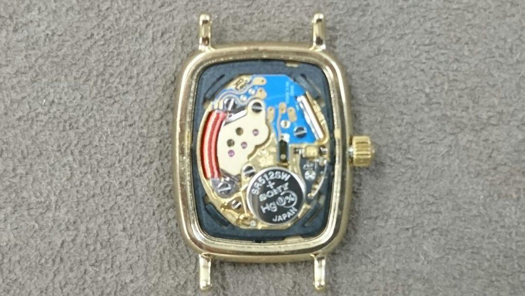 新潟市でオメガ腕時計の修理メンテナンスはブローチ時計修理工