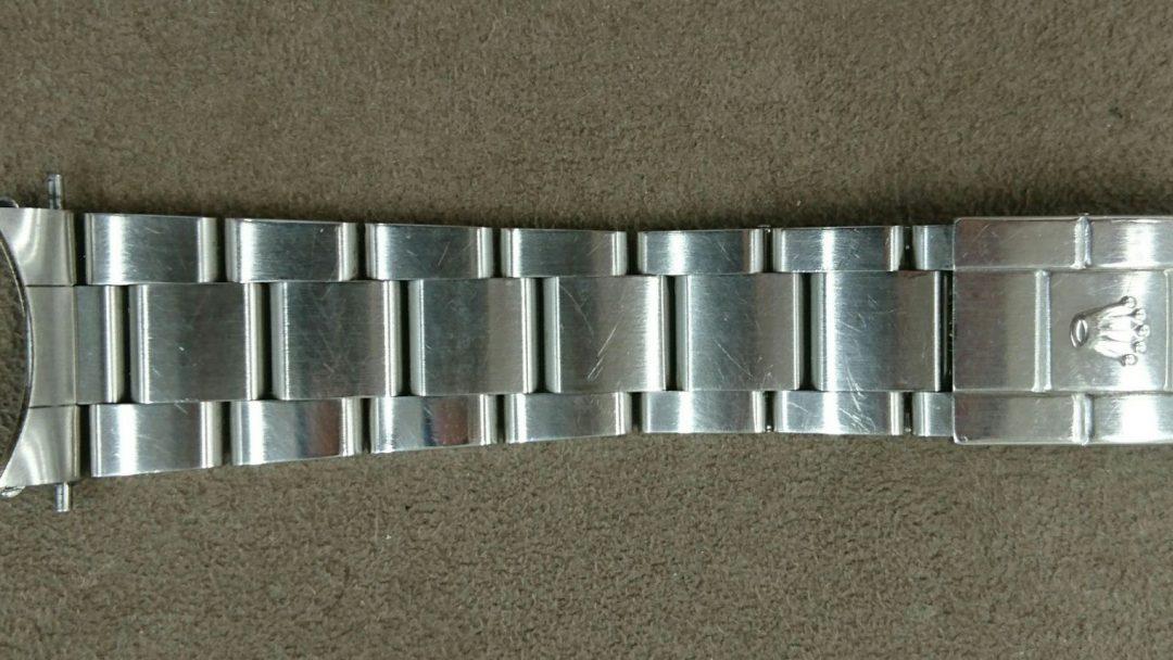ロレックスのGMT-Ⅱを新潟市ブローチ時計修理工房でオーバーホールとポリッシュ加工しました。