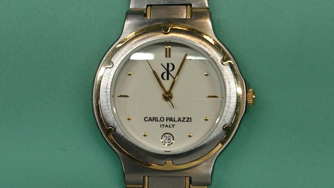 新潟市にある時計修理工房で、カルロ パラッツィーのムーブメント交換をしました。