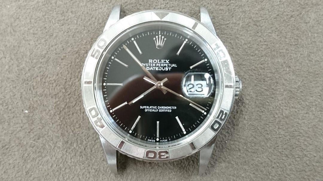ロレックスのサンダーバードを新潟市にある時計修理工房でオーバーホール(分解掃除)ポリッシュ加工(外装磨き)しました。