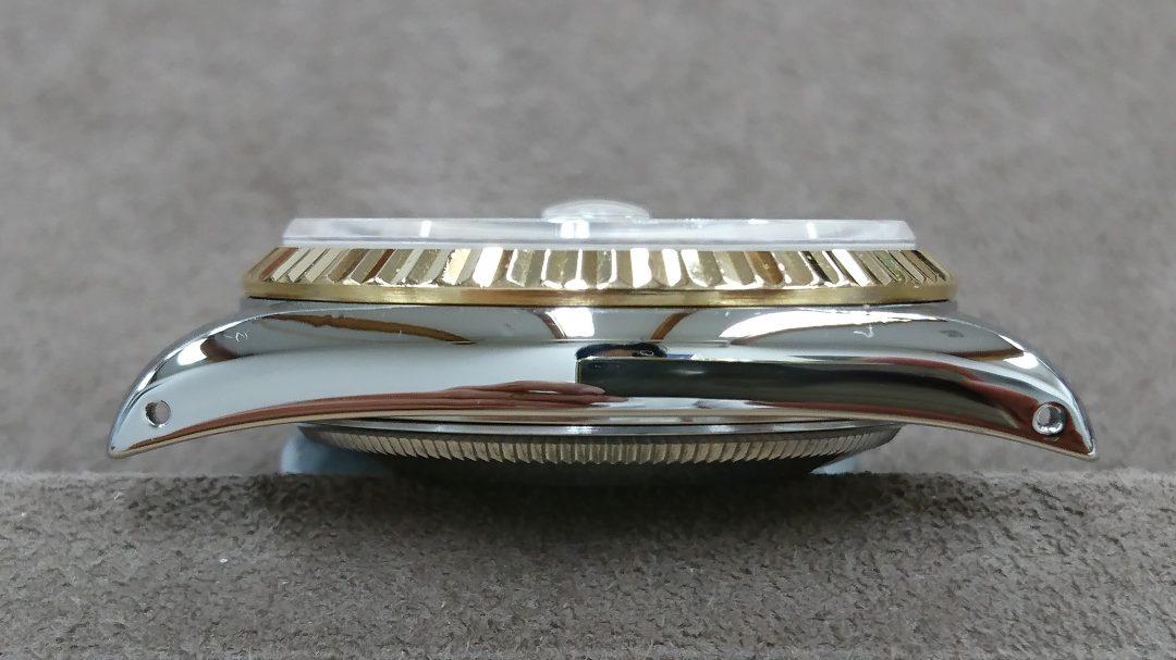 ロレックスのデイト・ジャストを新潟市にある時計修理工房でオーバーホール、ポリッシュ加工しました。