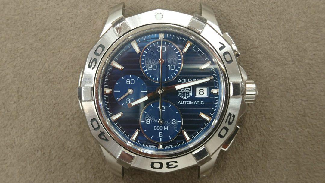 タグ・ホイヤー オーバーホール、ポリッシュは新潟市ブローチ時計修理工房におまかせください!