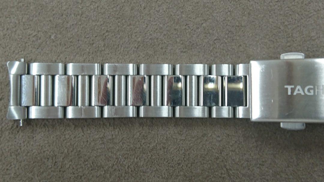 タグホイヤー 電池交換 ポリッシュ(外装磨き)は新潟市ブローチ時計修理工房におまかせください!