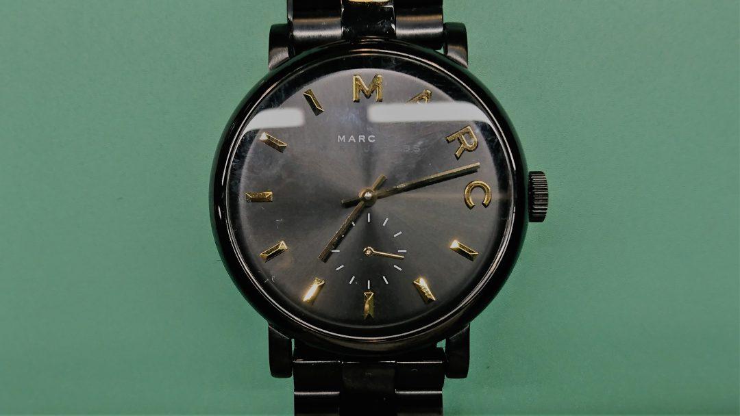 MARC BY MARC JACOBSの電池交換を新潟市にある時計修理工房BROOCHで承りました。