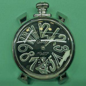 ガガミラノ オーバーホール(分解掃除)は新潟市ブローチ時計修理工房へ!