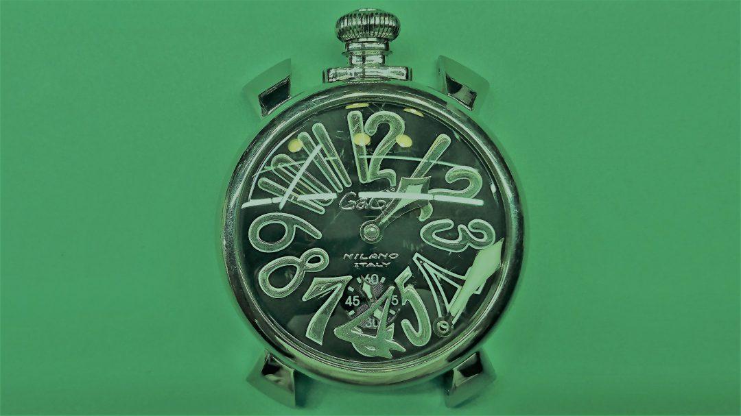 新潟でガガミラノ時計修理はブローチ時計修理工