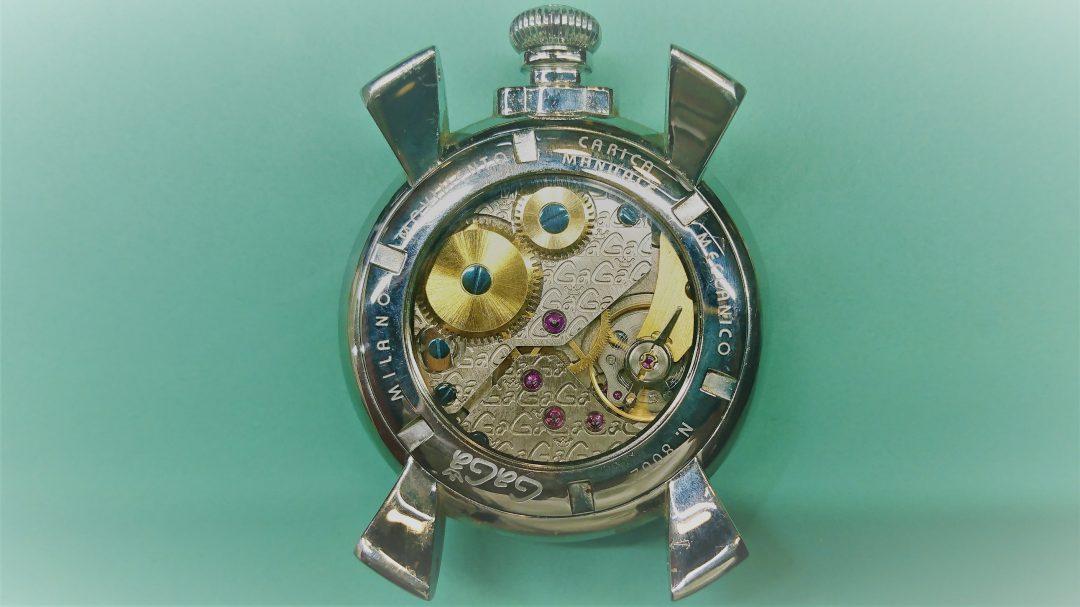 pretty nice 3b878 c060e GaGa MILANO(ガガ ミラノ)のオーバーホール。 | 新潟の時計 ...
