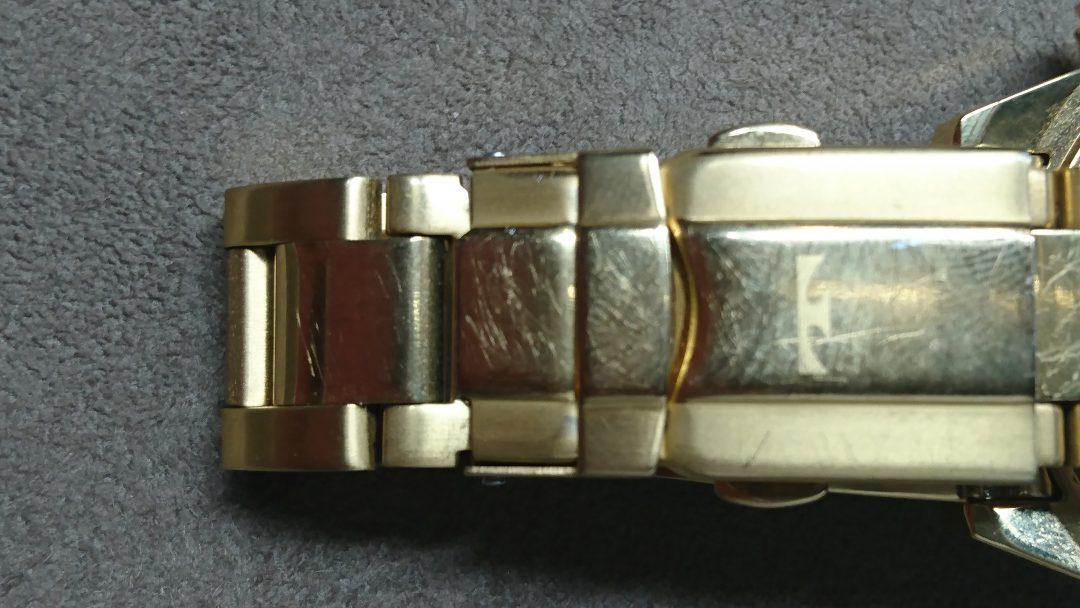 テクノス クラスプ ロックピン交換 時計修理は新潟市ブローチ時計修理工房におまかせください!