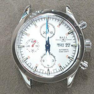 ボールウォッチ ポリッシュ(外装磨き)は新潟市ブローチ時計修理工房へ!