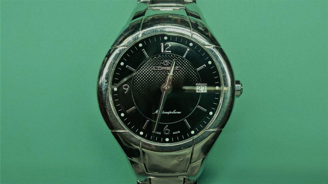 ロレンツ 電池交換 時計修理は新潟市ブローチ時計修理工房におまかせください!