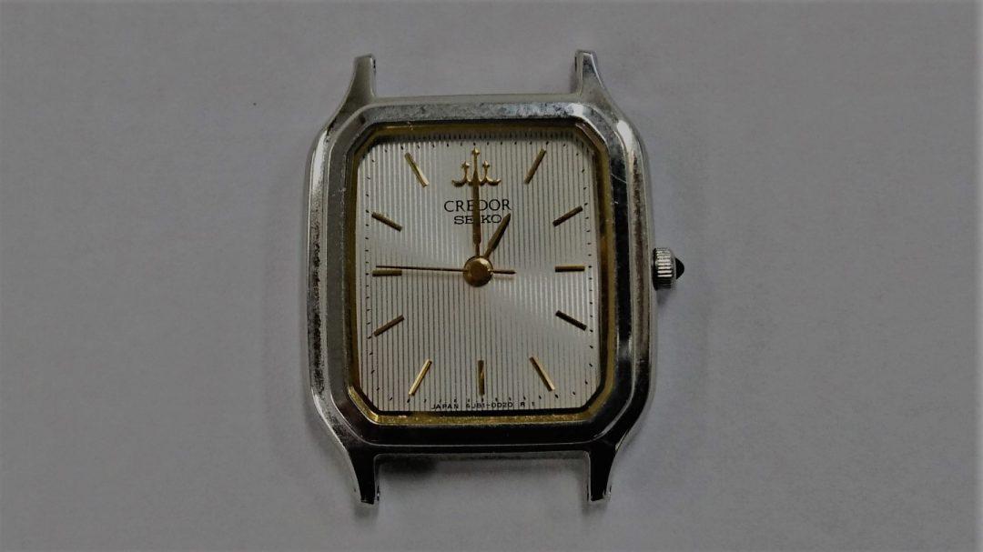 クレードールのオーバーホールを新潟市にある時計修理工房で行いました。