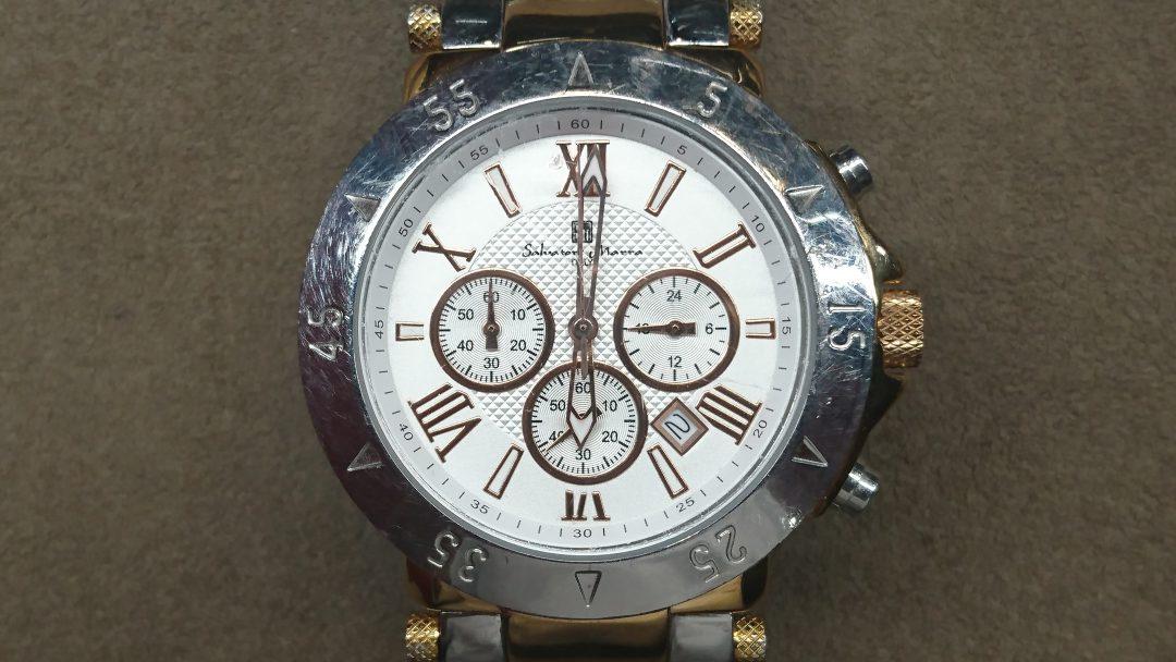 Salvatore Marra (サルバトーレ・マーラ)のインダイアルの枠取り付けは新潟市にある時計修理工房まで!