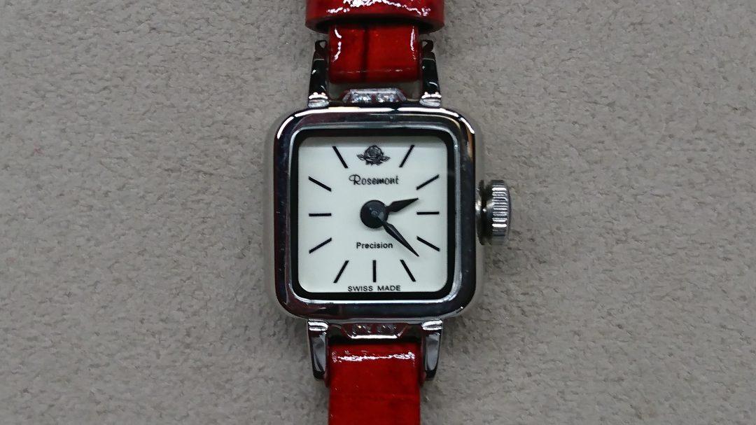 新潟のBROOCH時計修理工房では武井咲さん着用のクォーツもばっちり修理