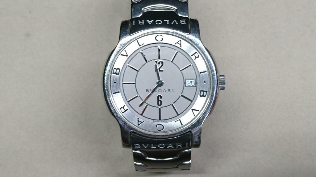 イタリアの時計ブランドBVLGARIの修理や電池交換はbrooch新潟時計修理工房へ