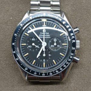 新潟で時計修理オーバーホール時計電池交換をするならBROOCH時計修理工房  OMEGA スピードマスタープロフェッショナル 145 0022 のオーバーホール
