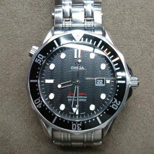 新潟で時計修理オーバーホール時計電池交換をするならBROOCH時計修理工房 オメガ シーマスター プロフェッショナル ref 196.1507 の電池交換