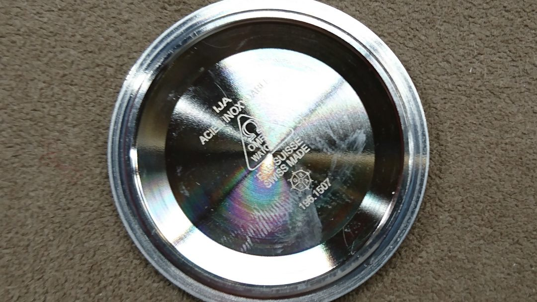 オメガ 電池交換 時計修理は新潟市ブローチ時計修理工房におまかせください!