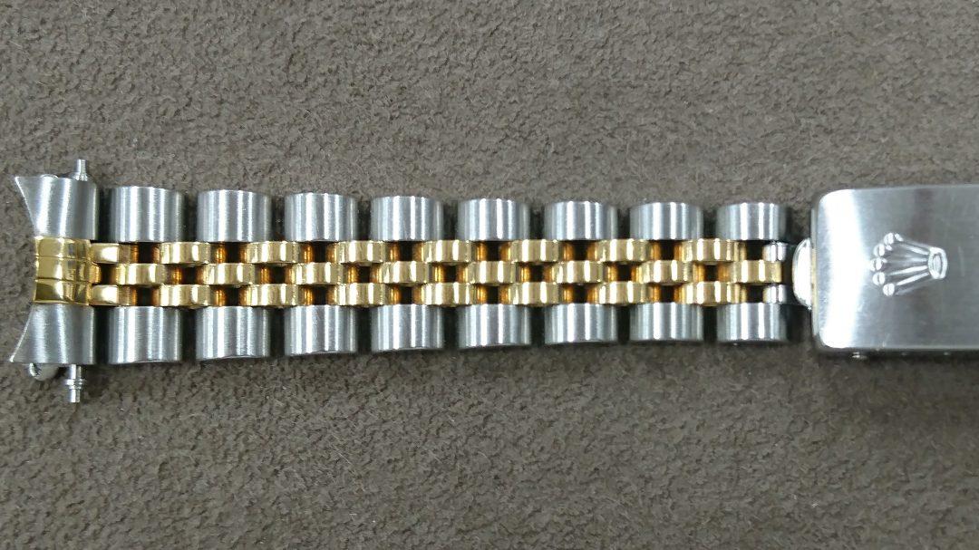 ジュビリーブレスレットの新品仕上磨き直しは新潟市のブローチ時計修理工房