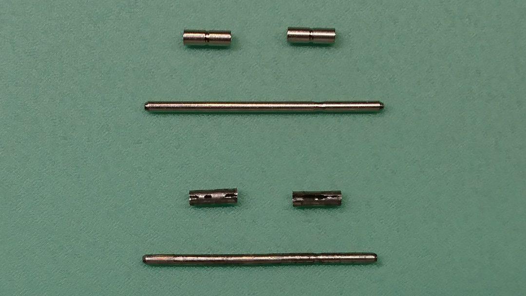 オメガ ポリッシュ(外装磨き) ブレス修理 時計修理は新潟市ブローチ時計修理工房へ!