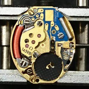 新潟で時計修理オーバーホール時計電池交換をするならBROOCH時計修理工房 オメガ デ・ヴィル 795.0898 キャリバー1459Bのオーバーホール