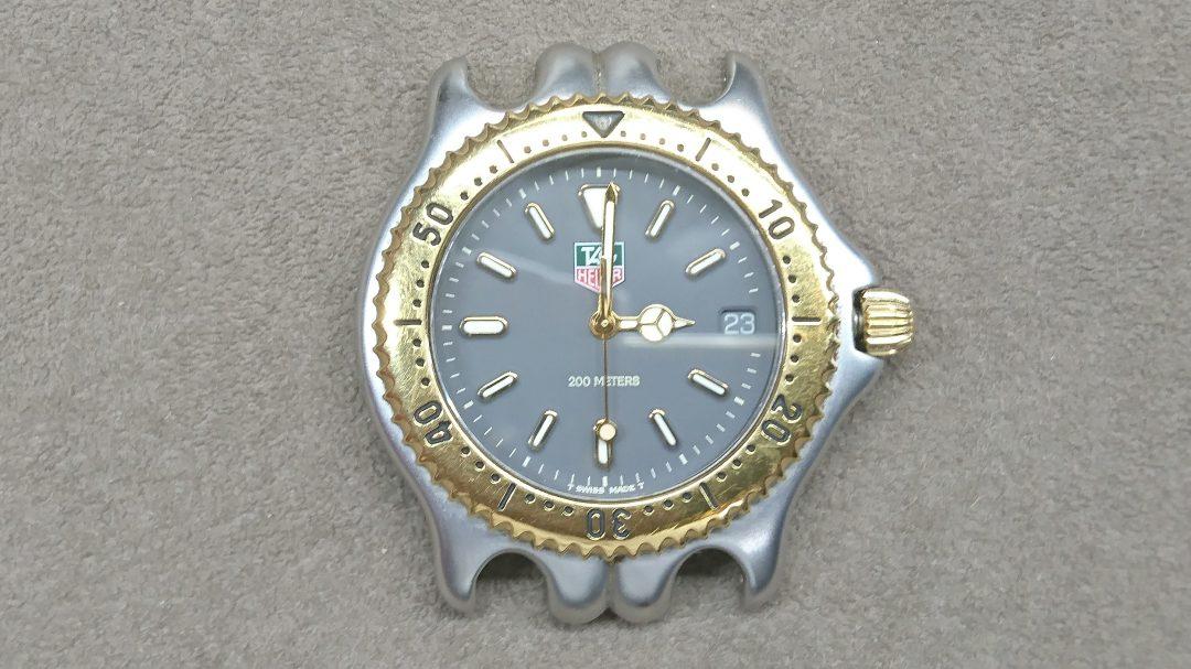 アイルトンセナも愛用したタグホイヤーのセル電池交換はブローチ時計修理工