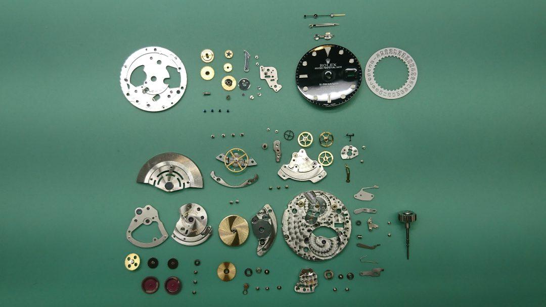 ロレックス オーバーホール、ポリッシュは新潟市ブローチ時計修理工房におまかせください!