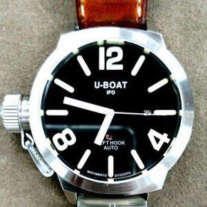 U-BOAT ケース&ブレス ポリッシュ新潟で時計修理オーバーホール時計電池交換をするならBROOCH時計修理工房