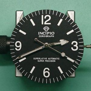 新潟で時計修理オーバーホール時計電池交換をするならBROOCH時計修理工房 INCIPIO ZERO GRAPH(インキピオ ゼログラフ)のオーバーホール