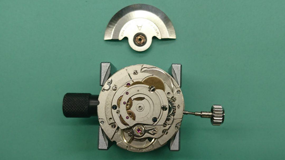インキピオ オーバーホール(分解掃除)は新潟市ブローチ時計修理工房におまかせください!