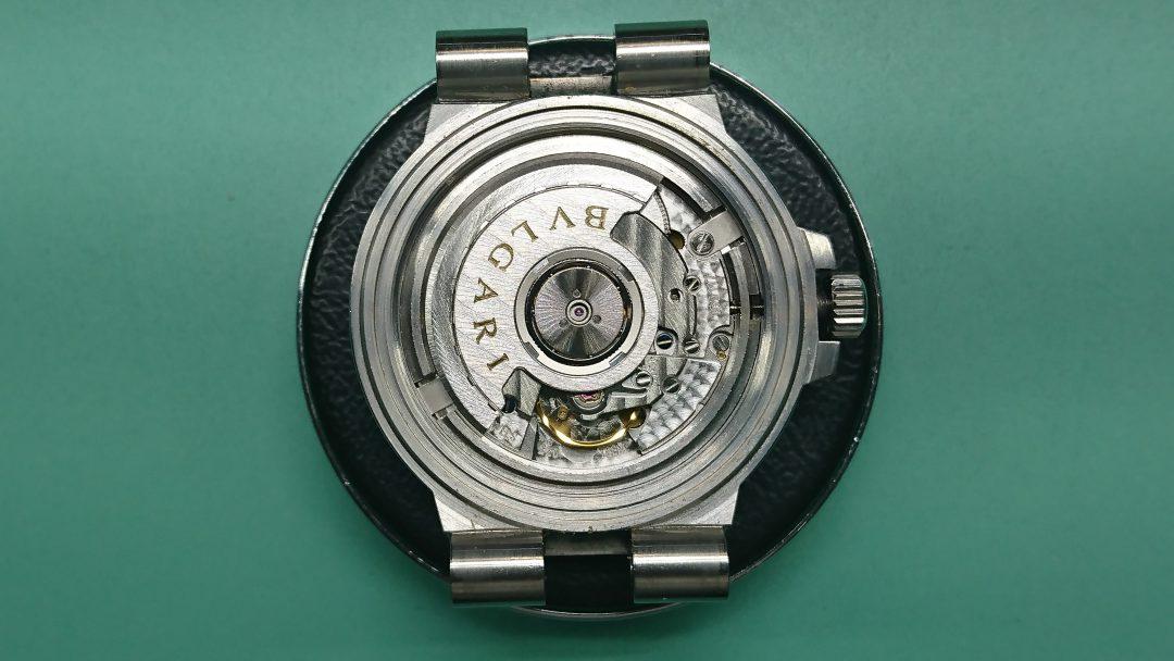 ブルガリ オーバーホール(分解掃除)は新潟市ブローチ時計修理工房におまかせください!