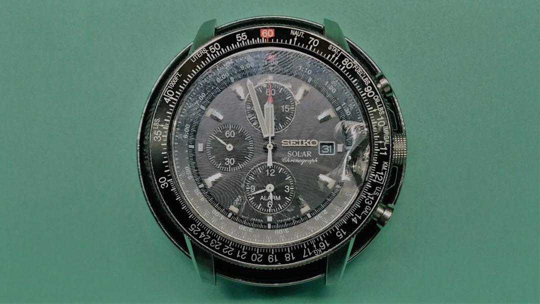 セイコー プロスペック ガラス交換 時計修理は新潟市ブローチ時計修理工房へ!