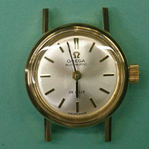 新潟で時計修理オーバーホール時計電池交換をするならBROOCH時計修理工房 OMEGA DEVILLE アンティーク 555.003のオーバーホール