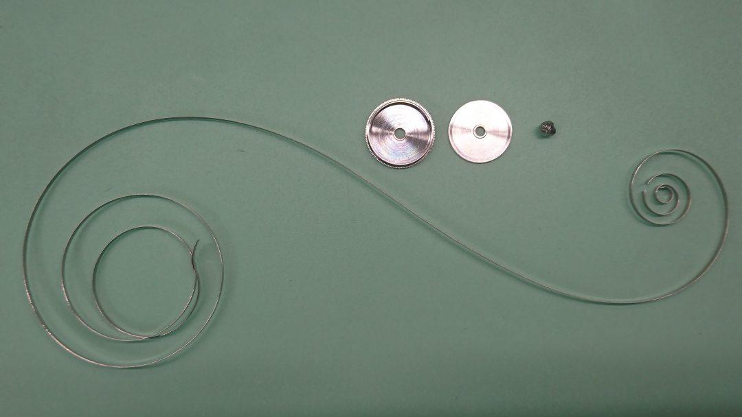 パネライ ゼンマイ交換 時計修理は新潟市ブローチ時計修理工房におまかせください!