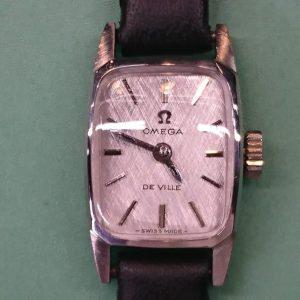 新潟で時計修理オーバーホール時計電池交換をするならBROOCH時計修理工房 OMEGA アンティーク レディーマティック 511.268のオーバーホール&ポリッシュ
